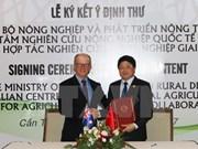 2017年APEC会议:越南与澳大利亚承诺在农业研究领域建立长期合作