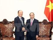 越南政府总理阮春福会见韩国Chamvit 集团领导