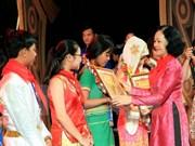 全国各民族优秀少年儿童表彰会在河内举行