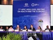 第七次亚太经合组织卫生与经济高级别会议在胡志明市举行