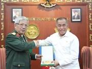 阮富仲访问印尼期间各场双边会晤陆续举行
