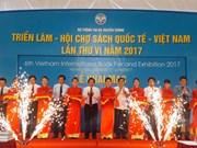 2017年第六届越南国际图书博览会热闹开展