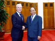 政府总理阮春福会见美国卫生与公众服务部部长