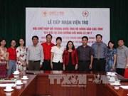 中国红十字会向越南西北地区洪水灾民提供援助