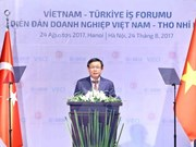 越南与土耳其加强经济合作