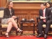 胡志明市与澳大利亚加大农业合作力度