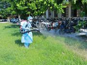 富寿省加大宣传力度 努力提高居民登革热病预防认识