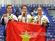 第29届东南亚运动会:27日越南体育代表团再夺一金三银