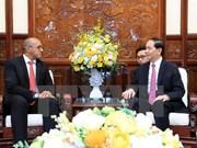 越南国家主席陈大光:不断巩固越古特殊模范关系
