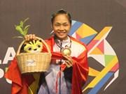 第29届东南亚运动会:29日越南班卡苏拉运动员获2金6银