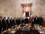 越南国会副主席杜伯巳对伊朗进行正式访问