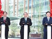 政府总理阮春福发布首个越南品牌汽车生产项目开工令
