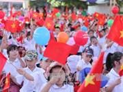 越南全国近2000万名学生和大学生进入2017—2018新学年