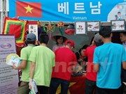 越南劳动者参加韩国外劳节