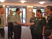越南人民军总参谋长在第20届亚太国防军司令会议期间举行一系列双边活动