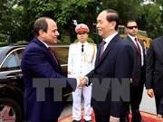 埃及总统塞西圆满结束对越南进行国事访问