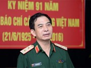 越南人民军高级军事代表团对古巴进行正式友好访问