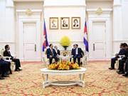 柬埔寨高度评价首都河内所向首都金边提供的帮助