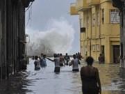 越南领导人就古巴遭飓风袭击向古巴方面致慰问电