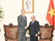 越南政府总理阮春福会见斯洛伐克驻越南大使