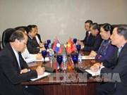越南国会副主席丛氏放在第38届东盟议会联盟大会期间同各国国会领导举行会晤