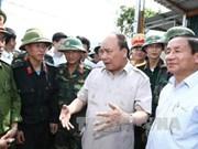 阮春福赴河静省检查指导第十号台风灾后恢复重建工作