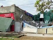 越南红十字会向灭区居民提供扶持
