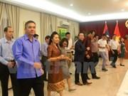 越老关系55周年:越南和老挝驻马来西亚大使馆举行体育文化交流