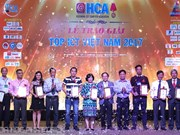 2017年越南TOP ICT奖对最佳电信和信息技术企业和服务产品给予表彰