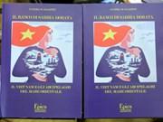 意大利学者出版关于越南海洋岛屿主权的书籍