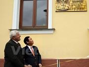 越南政府副总理王廷惠对斯洛伐克进行访问