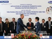 Vinamilk同世界著名菌种研究公司科汉森加强战略合作