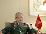 阮志咏上将:越中边境国防友好交流活动有助于建设安宁的边境地区