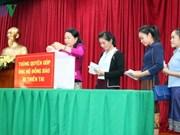 旅居老挝越南人社群为受灾群众捐款