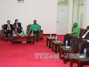 越南共产党代表团对坦桑尼亚进行访问