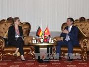 王廷惠希望德国继续协助九龙江三角洲地区有效应对气候变化