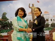 全球妇女峰会主席邀请胡志明市领导出席2018年全球妇女峰会