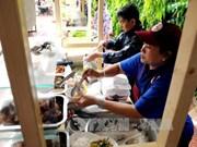 胡志明市第二条摊贩街正式投入运营