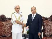 政府总理阮春福会见印度参谋长委员会主席