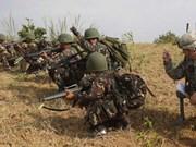 美国与菲律宾同意加强联合军事行动
