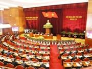 越共十二届六中全会第二天新闻公报