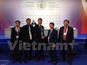 越南代表团出席第十六届情报机构领导人会议