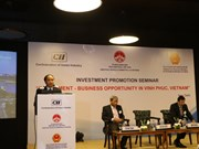 印度投资者关注了解越南永福省营商环境