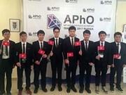 越南将承办2018年第十九届亚洲物理奥林匹克竞赛