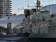 澳大利亚海军军舰访问菲律宾