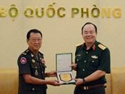 越南和柬埔寨加强陆地边境地区的救援合作