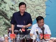 政府副总理郑廷勇:坚决确保每一个受灾群众不挨饿受冻和防止疾病发生