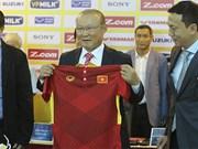 朴恒绪正式担任越南国家男足队新帅