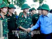 安沛省遭洪水袭击 致6死16失踪 张和平莅临灾区视察
