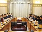 胡志明市与日本川口市加强合作关系